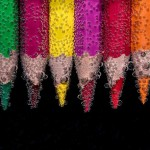 What kinds of colored pencils are there